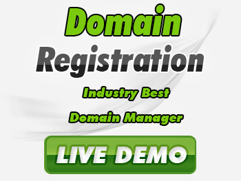 Affordably priced domain name registration service providers